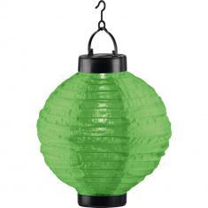 LED-Solarleuchte Lampion Grün