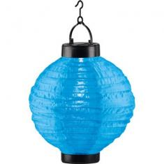 LED-Solarleuchte Lampion Blau