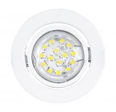 LED Einbauleuchte weiß von EGLO 30065 inkl. LED 3 Watt