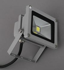 Briloner LED Außenstrahler mattnickel IP 65