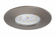 Briloner LED Einbauleuchten dimmbar 3-er Set , industrial (grau) 7231-031
