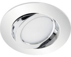 LED Einbauleuchten 1-er Spot 5 W, schwenkbar,chrom
