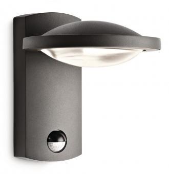 LED Sensor Außenwandleuchte 1x3W 380 lm 2700 K warmweiß Freedom anthrazit