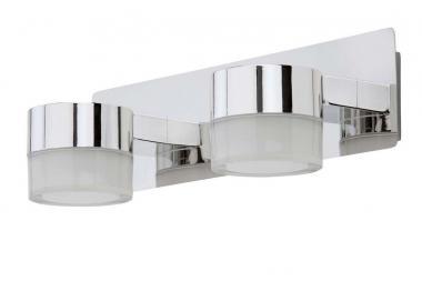 LED Bad Wand-Spiegelleuchte 2-flammig