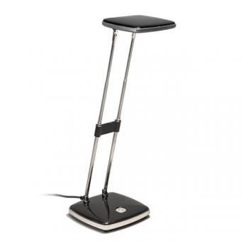 Höhenverstellbare LED Schreibtischleuchte schwarz