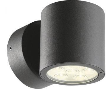 LED Außenwandleuchte Spirit dunkelgrau Aluminium 8W modern IP54 warmweiß