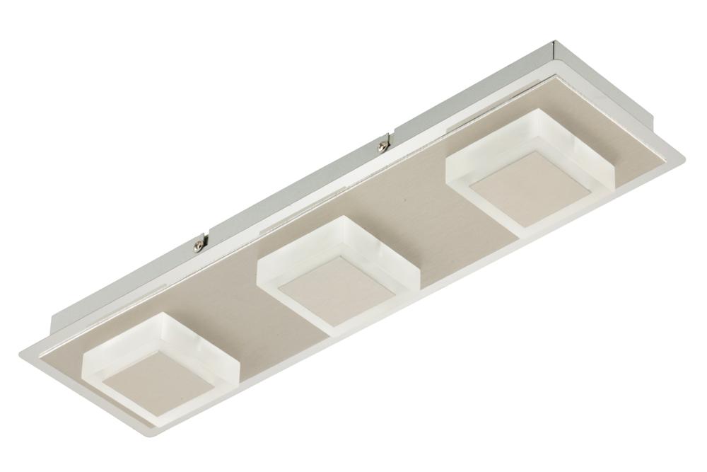 Leuchten Treff Briloner Led Deckenleuchte Metallo 3x 5w