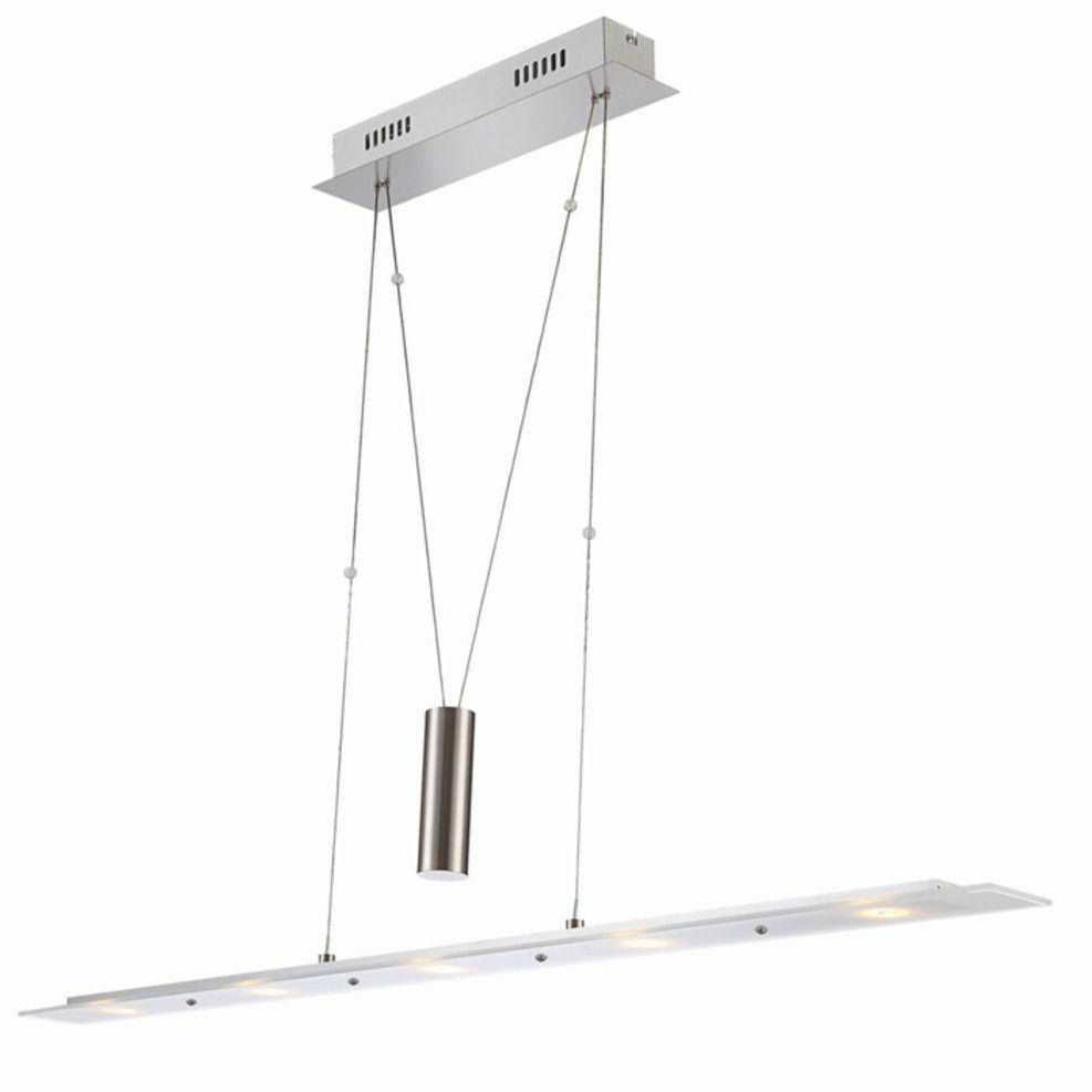 leuchten treff nino led pendelleuchte hoehenverstellbar. Black Bedroom Furniture Sets. Home Design Ideas